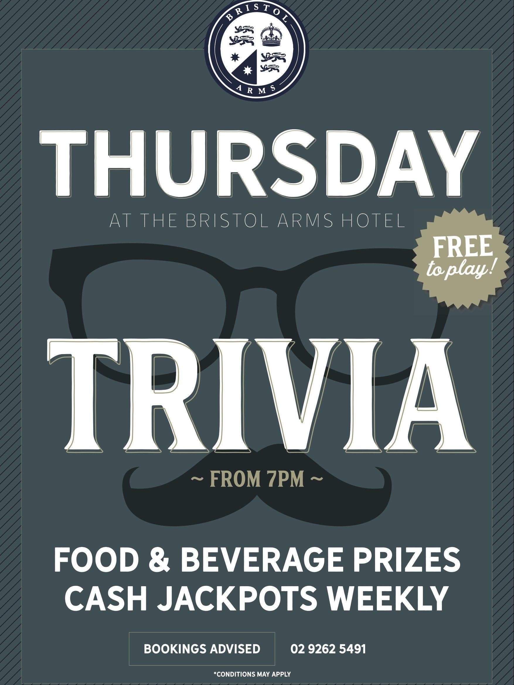 Trivia Thursdays